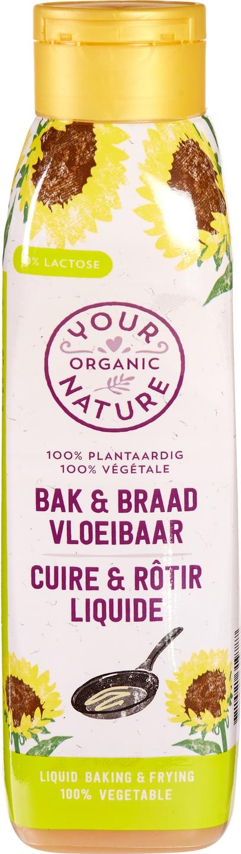 Biologische Your Organic Nature Bak en braad vloeibaar 450 ml