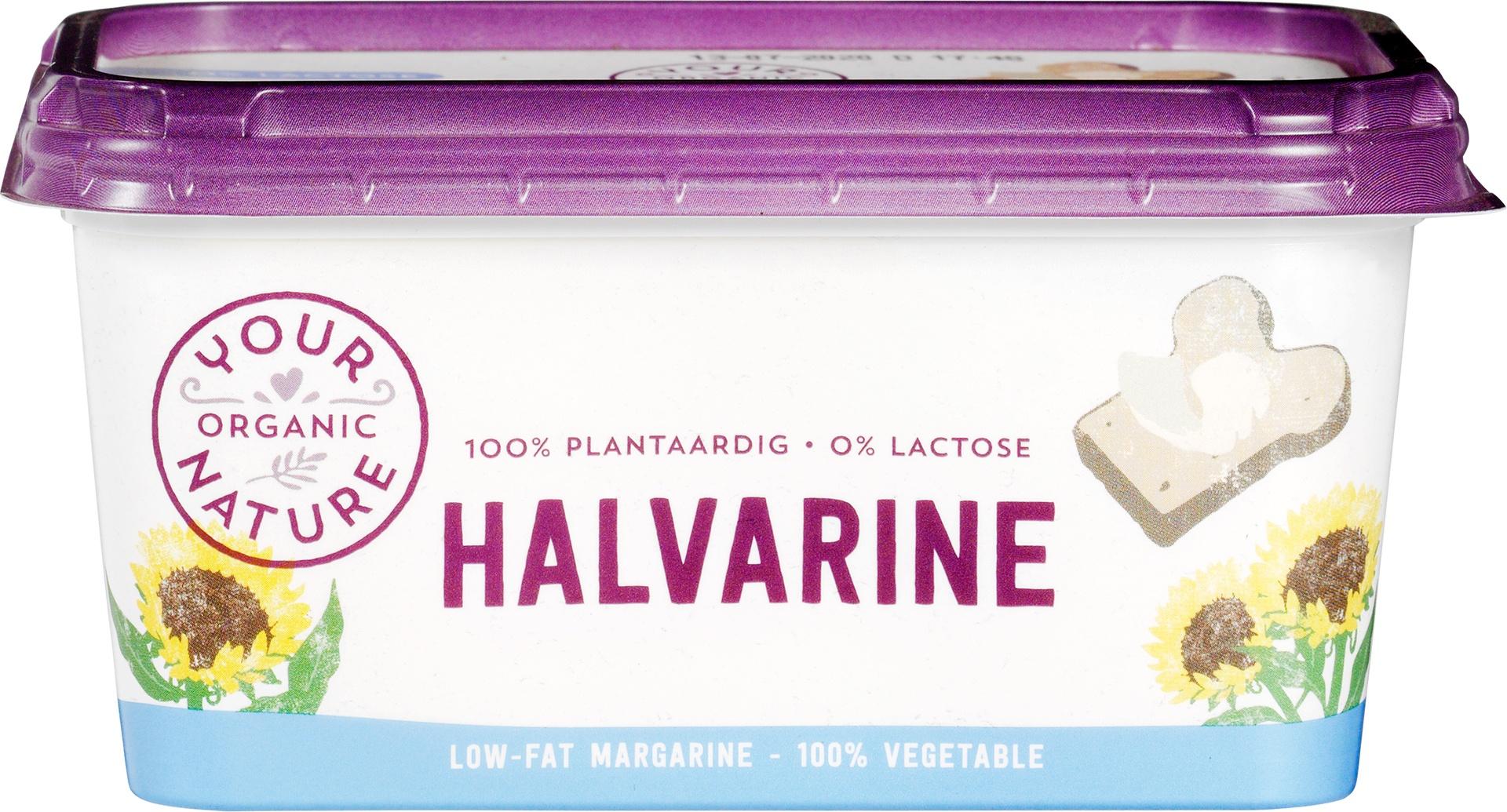 -22% SALE   Biologische Your Organic Nature Halvarine 500 gr