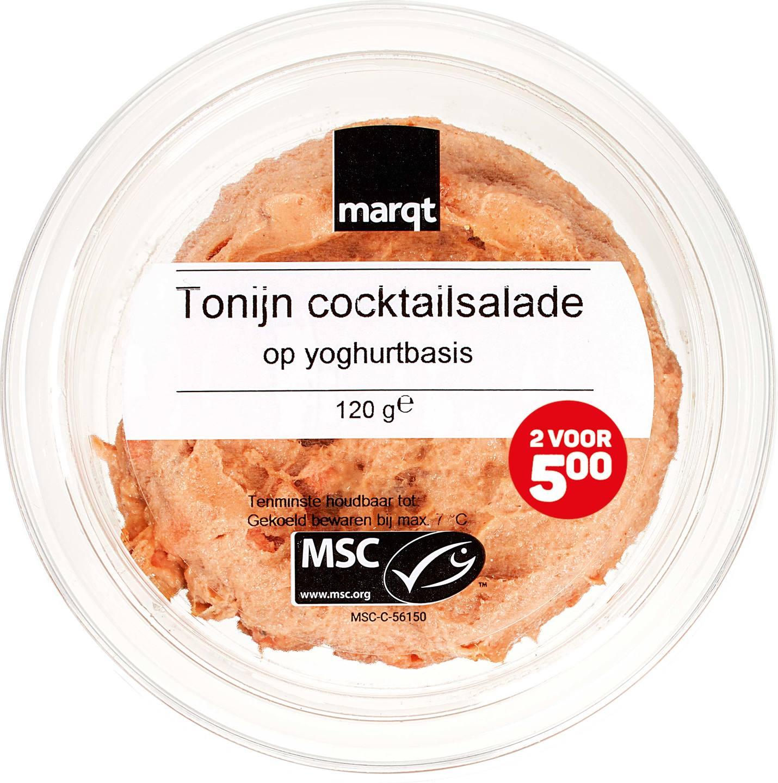 Biologische Marqt Tonijnsalade op yoghurtbasis 120 gr