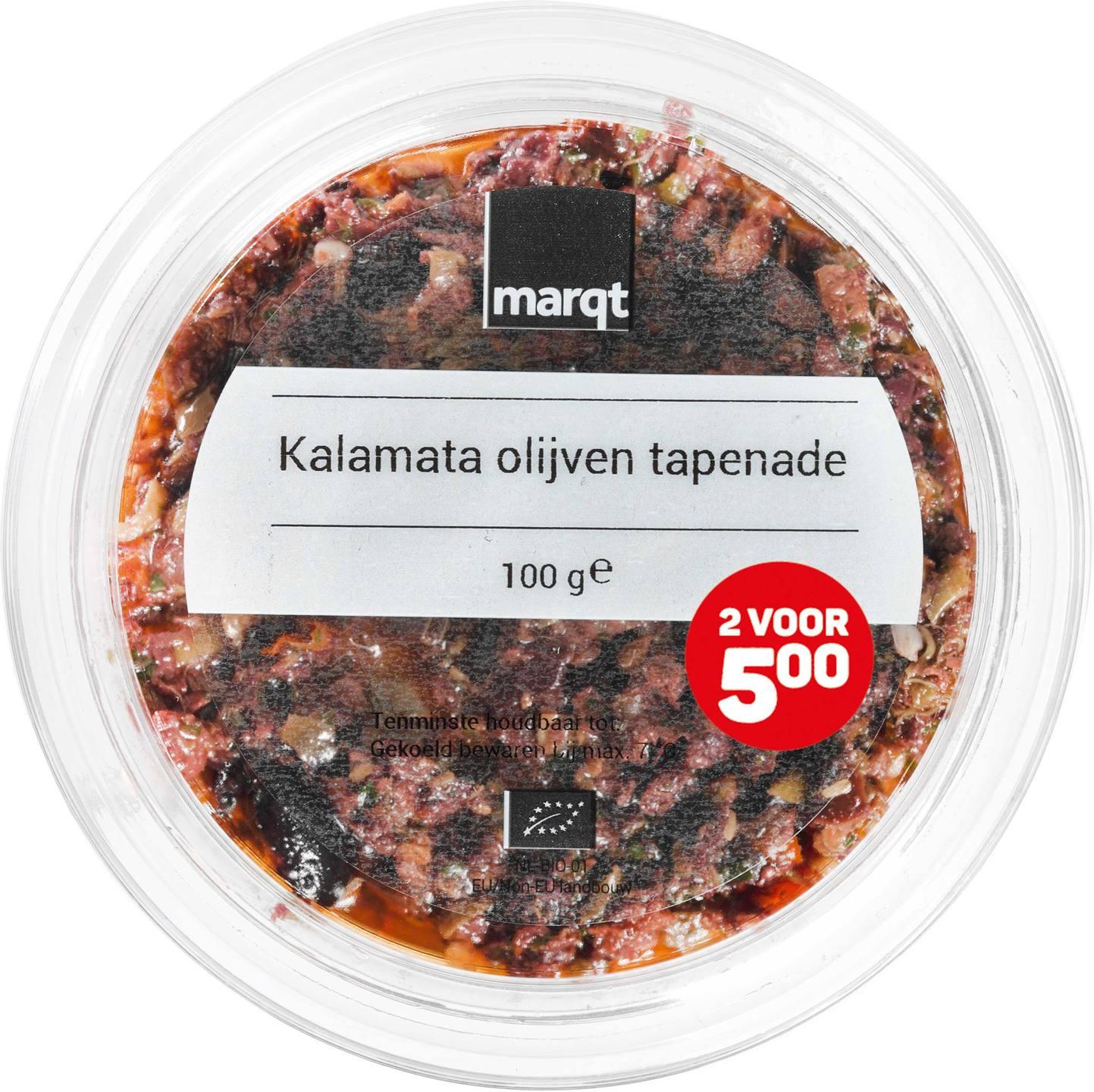 Biologische Marqt Kalamata olijventapenade 100 gr