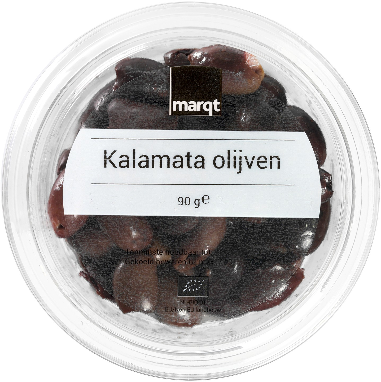 Biologische Marqt Kalamata olijven 90 gr
