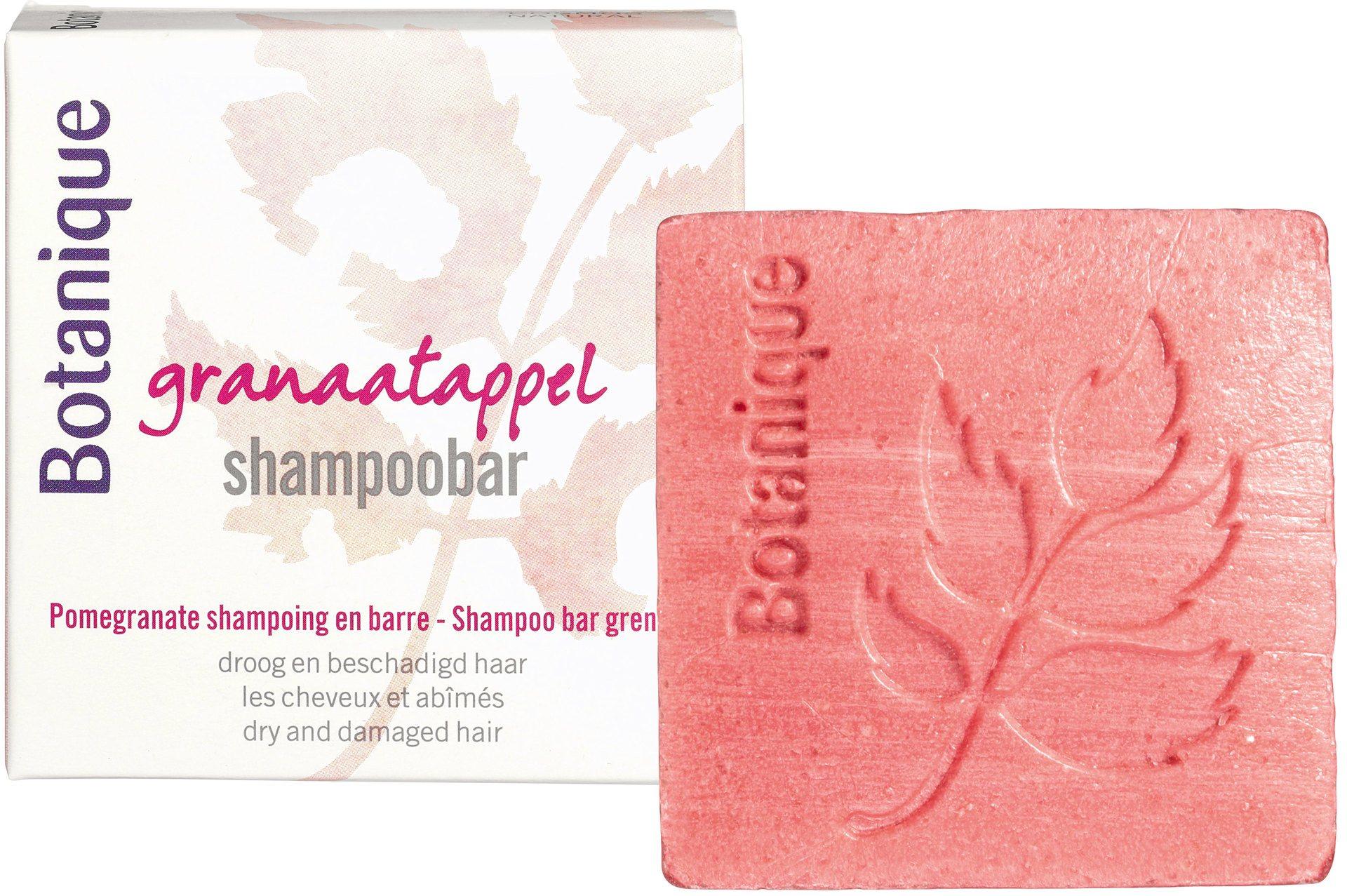 Biologische Botanique Granaatappel shampoobar 100 gr