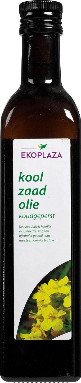 Biologische Ekoplaza Koolzaadolie 500 ml