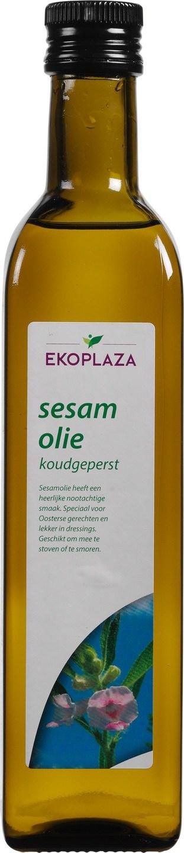 Biologische Ekoplaza Sesamolie koudgeperst 500 ml