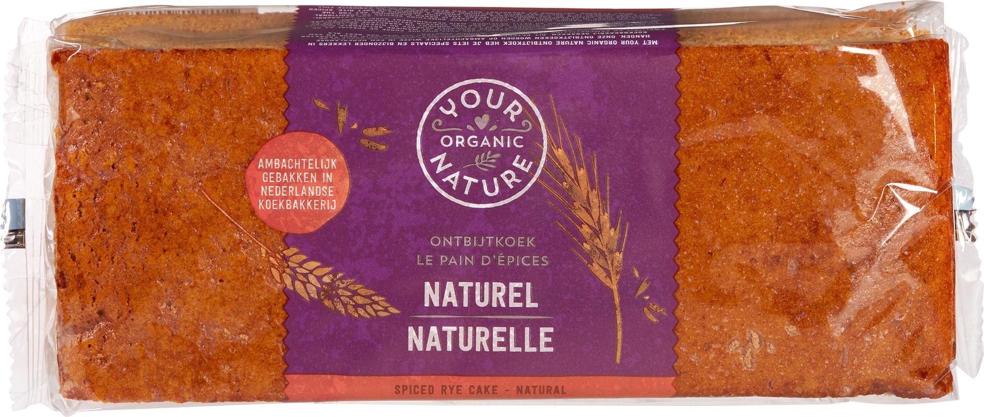 Biologische Your Organic Nature Ontbijtkoek naturel 400 gr