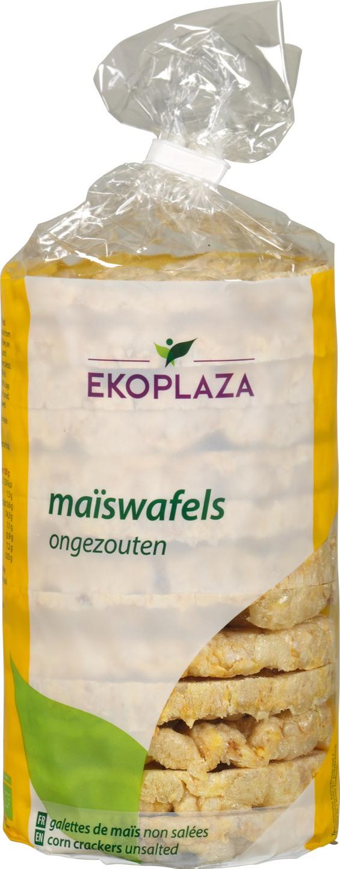Biologische Ekoplaza Maïswafels 100 gr