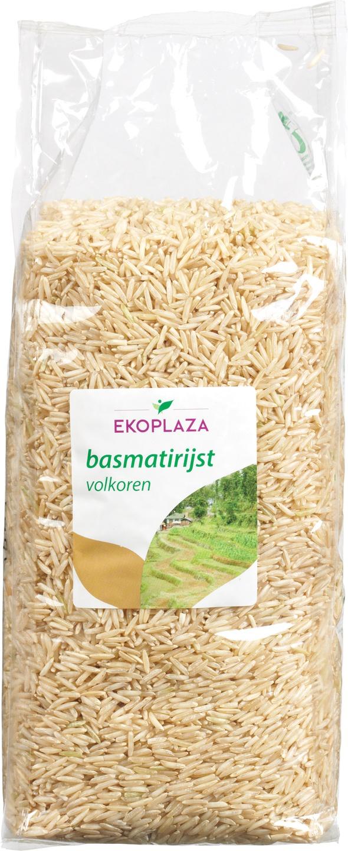 Biologische Ekoplaza Basmati rijst volkoren 1 kg