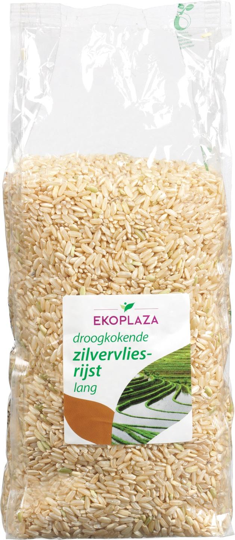 Biologische Ekoplaza Zilvervlies rijst lang 1 kg