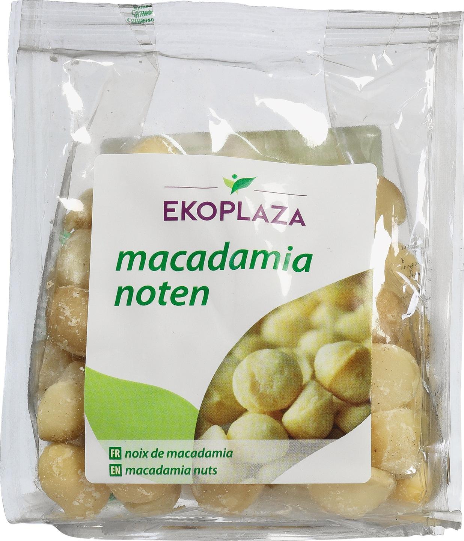 Biologische Ekoplaza Macadamianoten 125 gr