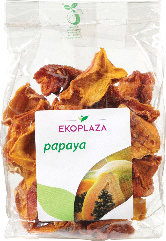 Biologische Ekoplaza Gedroogde papaya 125 gr