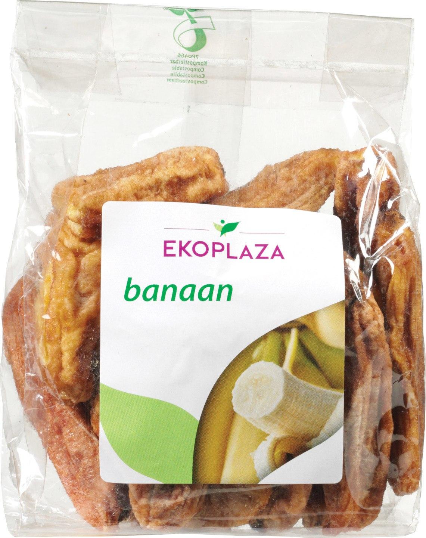 Biologische Ekoplaza Gedroogde banaan 200 gr