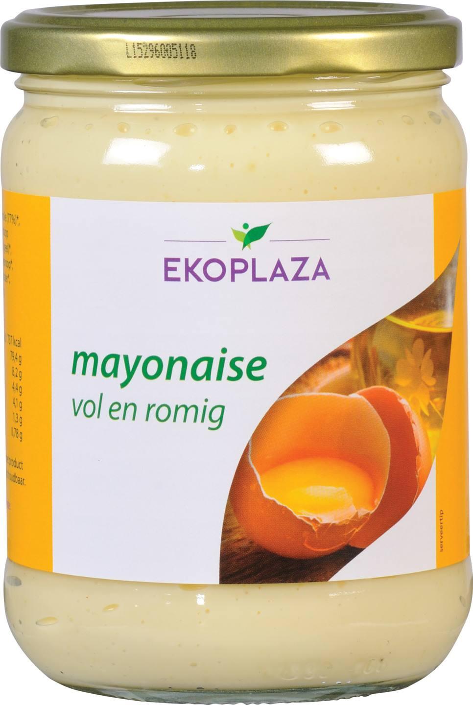 Biologische Ekoplaza Mayonaise vol en romig 490 gr