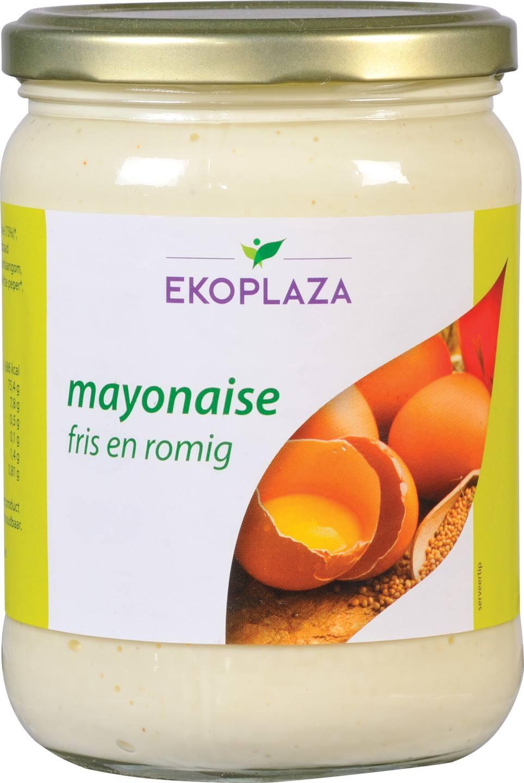 Biologische Ekoplaza Mayonaise fris en romig 490 gr