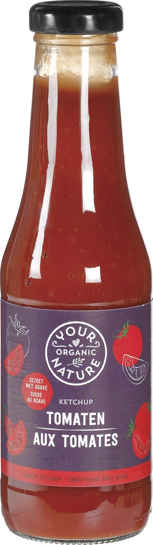 Biologische Your Organic Nature Tomatenketchup 500 gr
