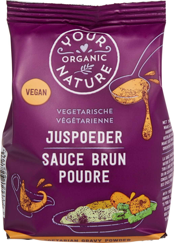 Biologische Your Organic Nature Vegetarische juspoeder 200 gr