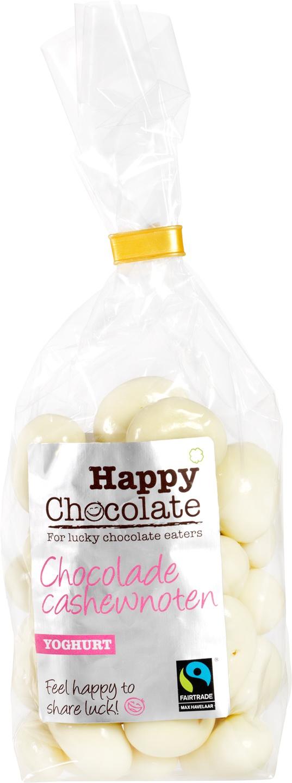 Biologische Happy Chocolate Yoghurt chocolade cashews 175 gr