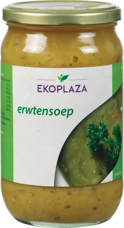 Biologische Ekoplaza Erwtensoep 720 ml