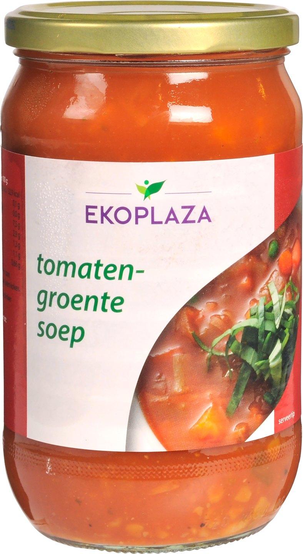 Biologische Ekoplaza Tomaten-groentesoep 720 ml