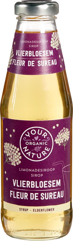 Biologische Your Organic Nature Vlierbloesem siroop 500 ml