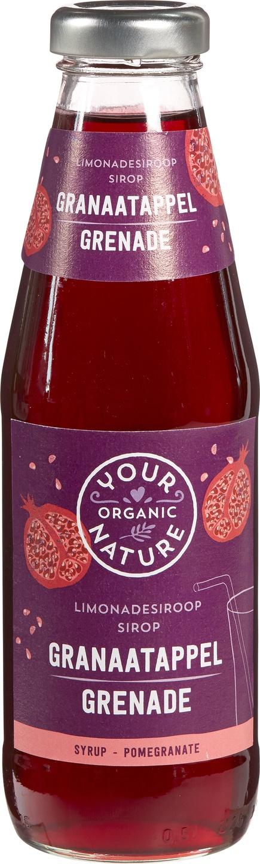 Biologische Your Organic Nature Granaatappel siroop 500 ml