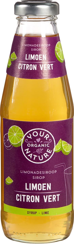 Biologische Your Organic Nature Limoen siroop 500 ml