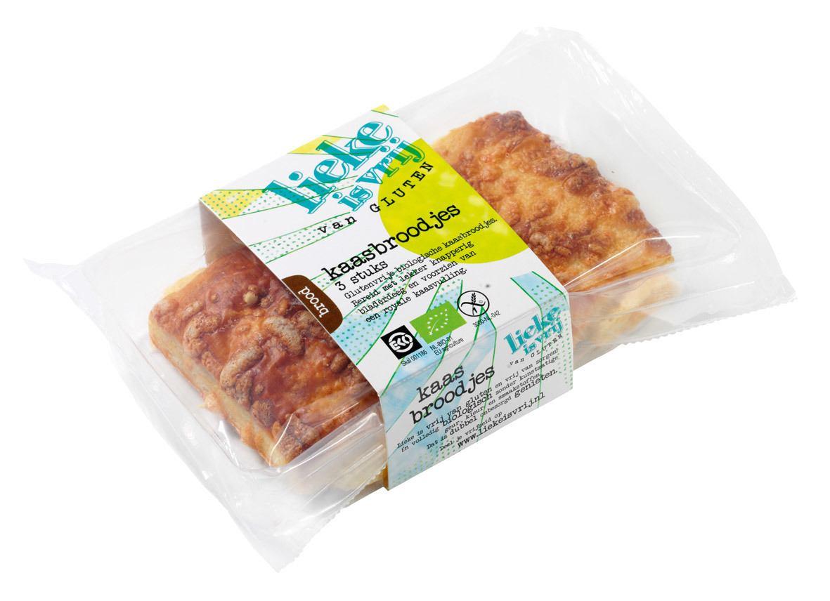 Biologische Lieke is vrij Kaasbroodjes 170 gr