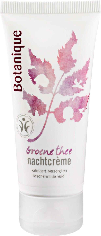 Biologische Botanique Nachtcrème groene thee - gevoelige huid 50 ml
