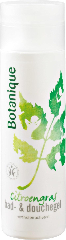 Biologische Botanique Bad- & douchegel citroengras 200 ml