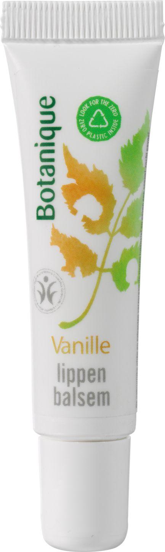 Biologische Botanique Lippenbalsem vanille 10 ml