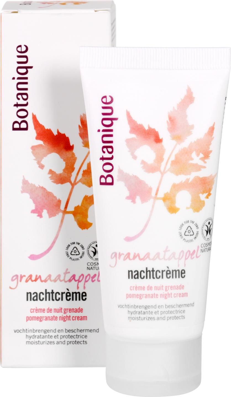 Biologische Botanique Nachtcrème granaatappel - vochtinbrengend 50 ml