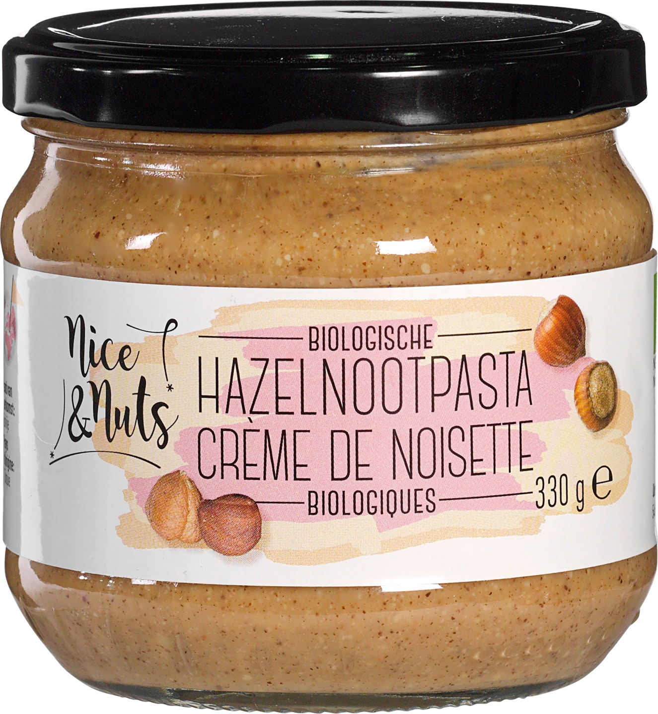 Biologische Nice&Nuts Hazelnootpasta 330 gr