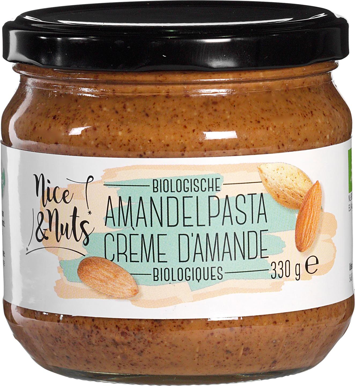 Biologische Nice&Nuts Amandelpasta 330 gr