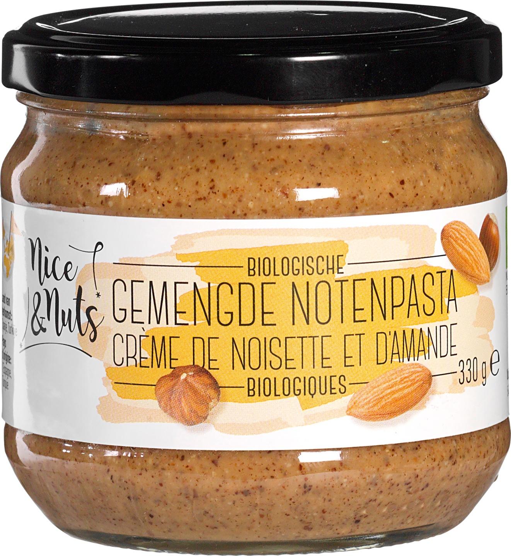 Biologische Nice&Nuts Gemengde notenpasta 330 gr