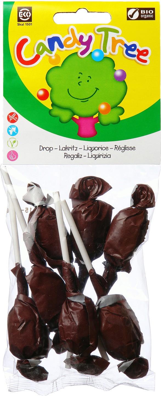 Biologische Candy Tree Droplollies 7 st