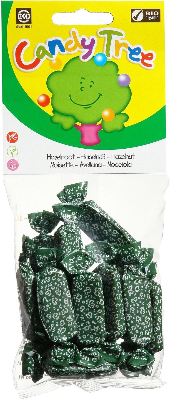 Biologische Candy Tree Hazelnoottoffees 75 gr
