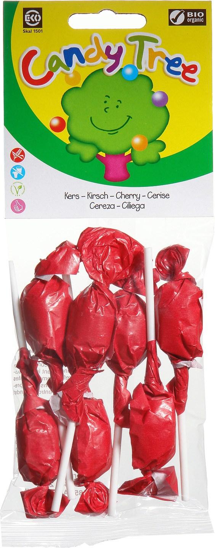 Biologische Candy Tree Kersenlollies 7 st
