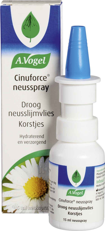 Biologische A. Vogel Cinuforce neusspray droog neusslijmvlies 15 ml