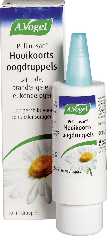 Biologische A. Vogel Pollinosan hooikoorts oogdruppels 10 ml