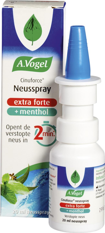 Biologische A. Vogel Cinuforce neusspray extra forte 20 ml
