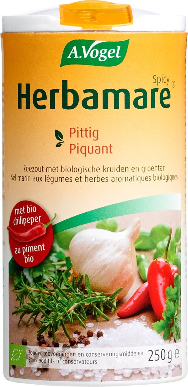 Biologische A. Vogel Herbamare kruidenzout pittig 250 gr