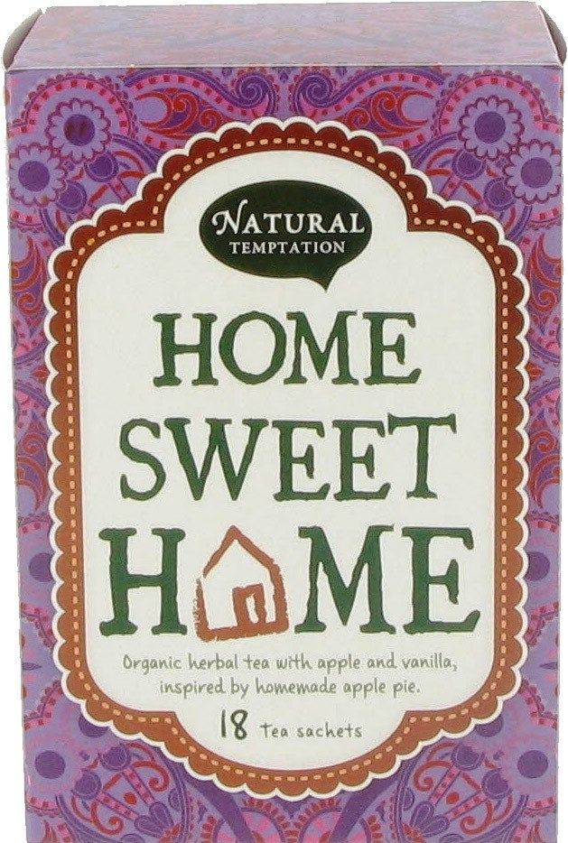Biologische Natural Temptation Home sweet home kruidenthee 18 builtjes