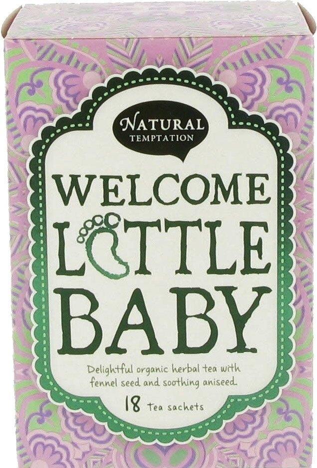 Biologische Natural Temptation Welcome litlle baby thee 18 builtjes