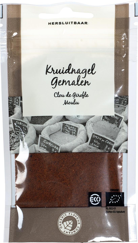 Biologische Organic Flavour Company Kruidnagel gemalen 23 gr