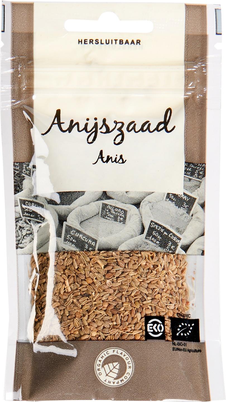 Biologische Organic Flavour Company Anijszaad 27 gr