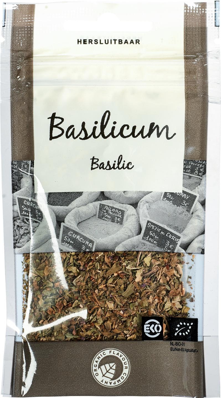 Biologische Organic Flavour Company Basilicum 8 gr