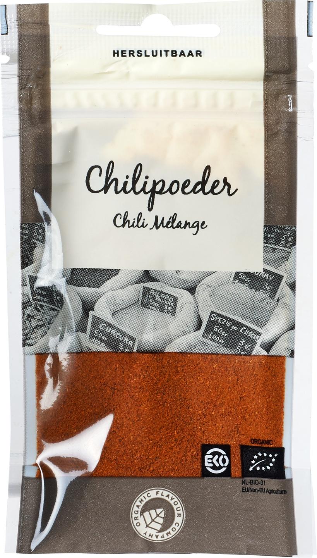 Biologische Organic Flavour Company Chilipoeder 18 gr