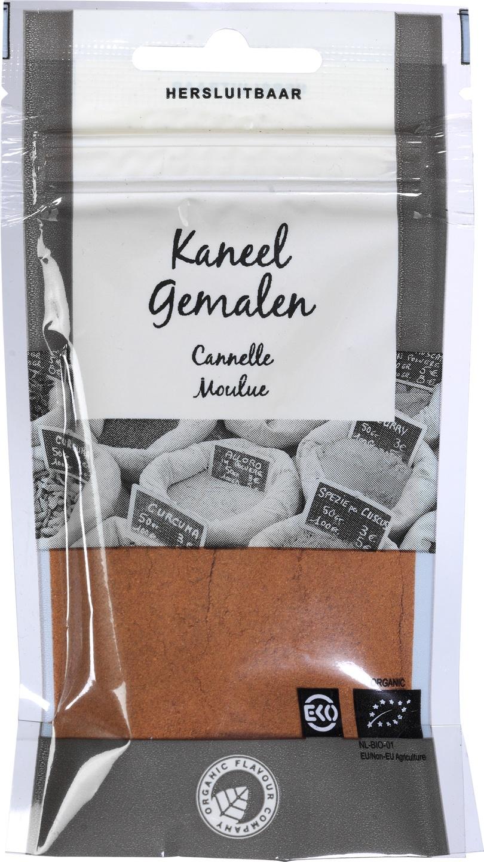 Biologische Organic Flavour Company Kaneel gemalen 24 gr