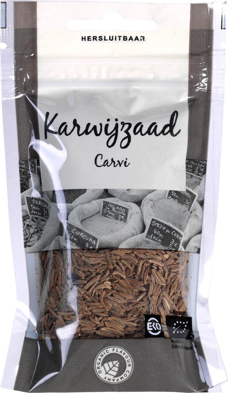 Biologische Organic Flavour Company Karwijzaad 40 gr