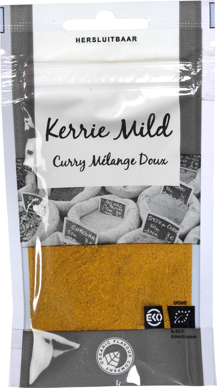 Biologische Organic Flavour Company Kerrie Mild 25 gr