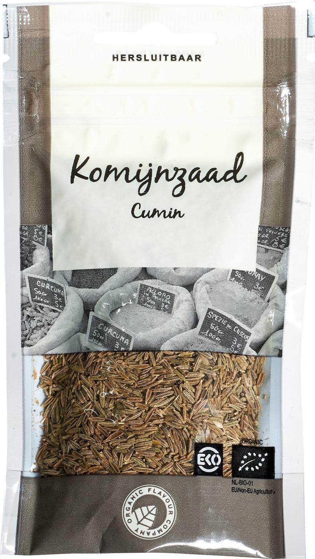 Biologische Organic Flavour Company Komijnzaad 25 gr